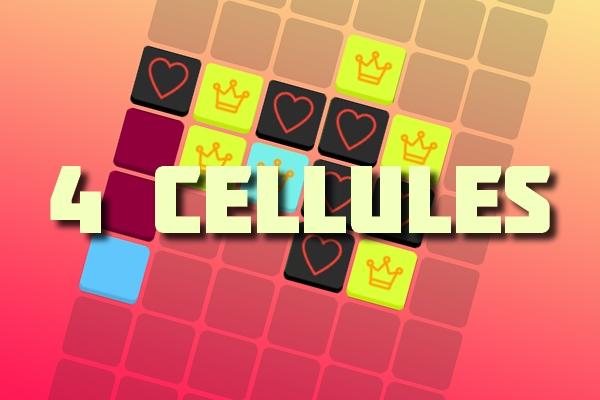 4 cellules