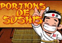 Portions De Sushis