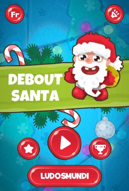 Debout Santa