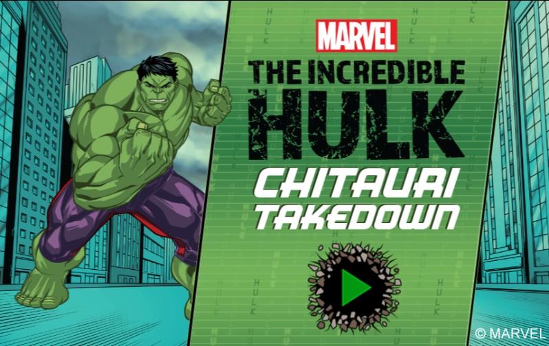 The Incredible Hulk: Chitauri Takedown