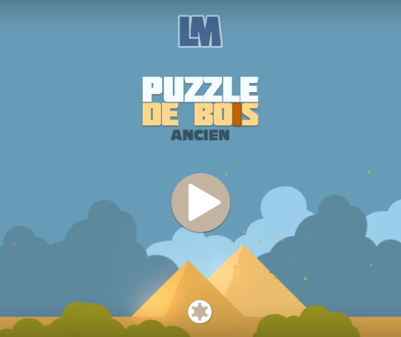 Puzzle De Bois Ancien
